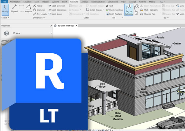 Autodesk AutoCAD Revit LT Suite New Annual Subscription