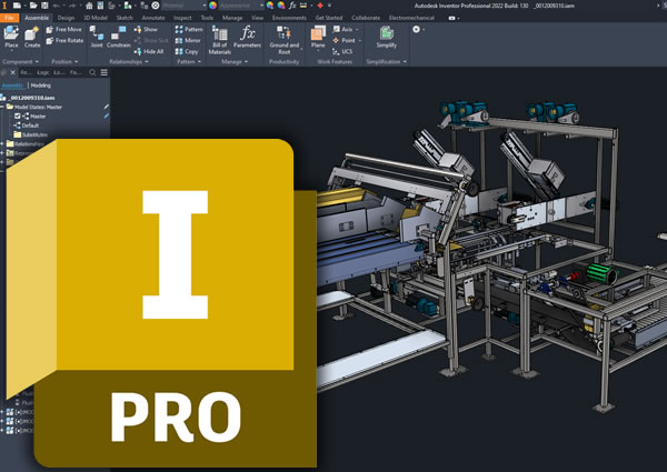 Autodesk Inventor Professional Commercial New Single-user ELD Annual Subscription