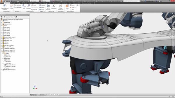 3D CAD モデリング ソフトウェアの機能 | Inventor 2020 | オートデスク