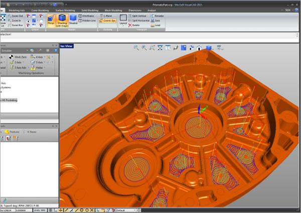 CAMソフトウェア(切削加工・NCデータ作成) | CAD百貨